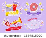 party label vector logo for... | Shutterstock .eps vector #1899815020