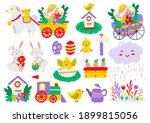 easter vector illustration for... | Shutterstock .eps vector #1899815056