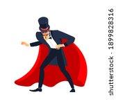 Magician Showman Male...