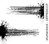 car tires print  automobile... | Shutterstock .eps vector #1899836119