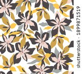 floral seamless pattern with... | Shutterstock .eps vector #1899871519