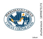 coat of arms of labuan is a... | Shutterstock .eps vector #1899875173