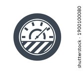 efficiency related glyph icon....   Shutterstock . vector #1900100080