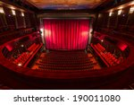 an old theater auditorium ... | Shutterstock . vector #190011080