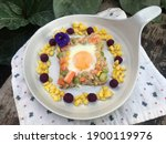 Egg With Tuna Mixed Crab Strick ...