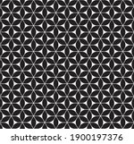 seamless abstract geometric... | Shutterstock .eps vector #1900197376