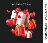 happy valentine's day banner....   Shutterstock .eps vector #1900235746