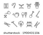 simple icon agricultural tools  ... | Shutterstock .eps vector #1900431106