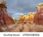 The Incredibly Colorful  Eroded ...