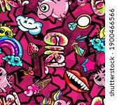 hand drawn fashion girls...   Shutterstock .eps vector #1900466566
