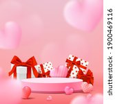 happy valentine's day podium...   Shutterstock .eps vector #1900469116