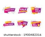 sale banner templates design.... | Shutterstock .eps vector #1900482316