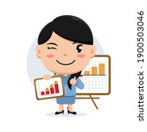 character of woman holding... | Shutterstock .eps vector #1900503046