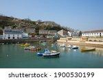 Porthleven Cornwall England Uk...
