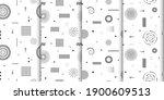 cute seamless background.... | Shutterstock .eps vector #1900609513