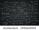 geometric math and physics... | Shutterstock .eps vector #1900640503