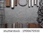 Various Metal Ware Flat Lay...