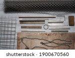 Various Metal Ware  Iron Net ...