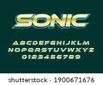 Sonic Text Effect  Modern Bold...