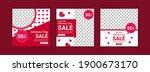 social media post templates for ... | Shutterstock .eps vector #1900673170