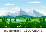 panoramic views of large... | Shutterstock .eps vector #1900728046