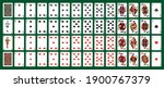 poker playing cards  full deck  ... | Shutterstock .eps vector #1900767379