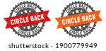 circle back grunge stamp set.... | Shutterstock .eps vector #1900779949