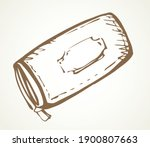 modern leather wallet. vector... | Shutterstock .eps vector #1900807663