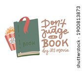 don't judge a book by it's... | Shutterstock .eps vector #1900813873