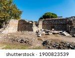 Ruins Of Byzantine Basilica In...