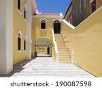 views around punda old city ...   Shutterstock . vector #190087598