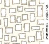 frames   seamless vector... | Shutterstock .eps vector #190087736