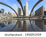 View Of Toronto City Hall With...