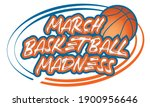 nadym  russia 01.23.21 the ncaa ... | Shutterstock .eps vector #1900956646