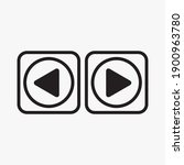 play button icon in trendy flat ...   Shutterstock .eps vector #1900963780