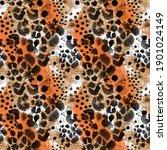 animal skin seamless pattern.... | Shutterstock . vector #1901024149