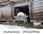 Old Estonian Peasant's Farm...