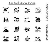 air pollution  virus crisis ... | Shutterstock .eps vector #1901039239