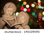 Christmas Carolers   Statue Of...