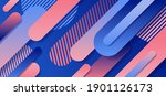 abstract blue and pink... | Shutterstock .eps vector #1901126173