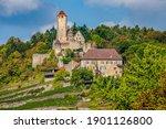 castle Hornberg, Neckarzimmern, Baden-Württemberg, Germany