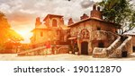 ancient village altos de chavon ... | Shutterstock . vector #190112870