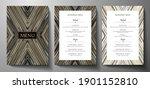 design restaurant menu template ... | Shutterstock .eps vector #1901152810
