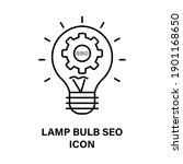 icon bulb and process in the... | Shutterstock .eps vector #1901168650