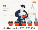 business topics   human... | Shutterstock .eps vector #1901198536