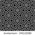 geometric arabic seamless... | Shutterstock .eps vector #190122080