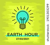 Colorful Earth Hour Day Poster...