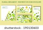 corporate euro envelope for... | Shutterstock .eps vector #190130603
