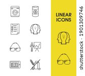 pack icons set with personality ...