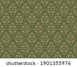 ethnic geometric seamless... | Shutterstock .eps vector #1901355976